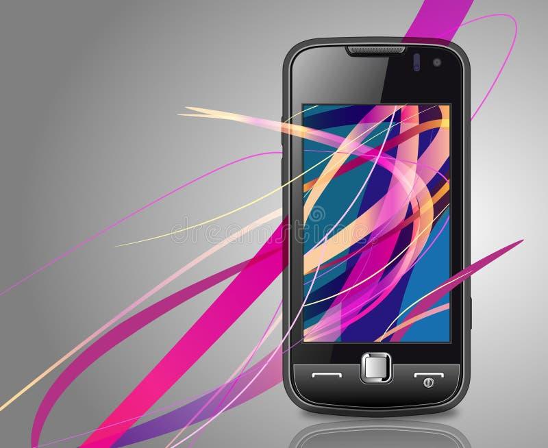 smartphone向量 向量例证