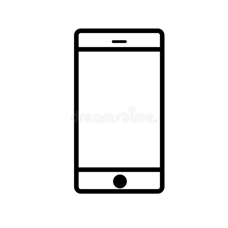 Smartphone图标 向量例证