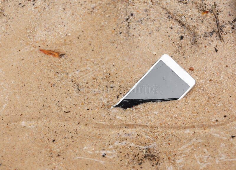 smartphone υγρό στοκ εικόνες