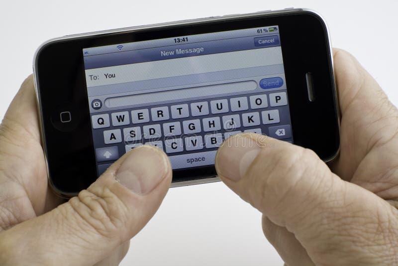 Smartphone stock photography