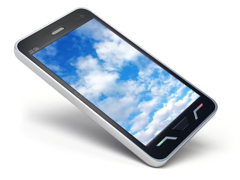 Smartphone royalty-vrije illustratie
