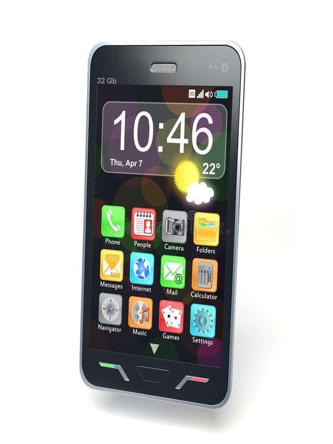 Smartphone ilustración del vector