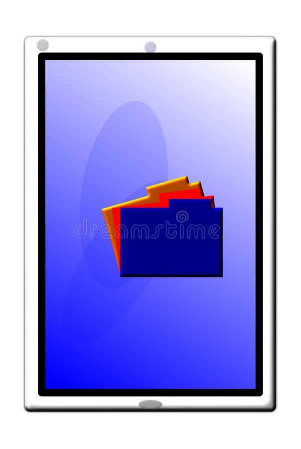 Download Smartphone stock illustration. Illustration of cell, idea - 21846349