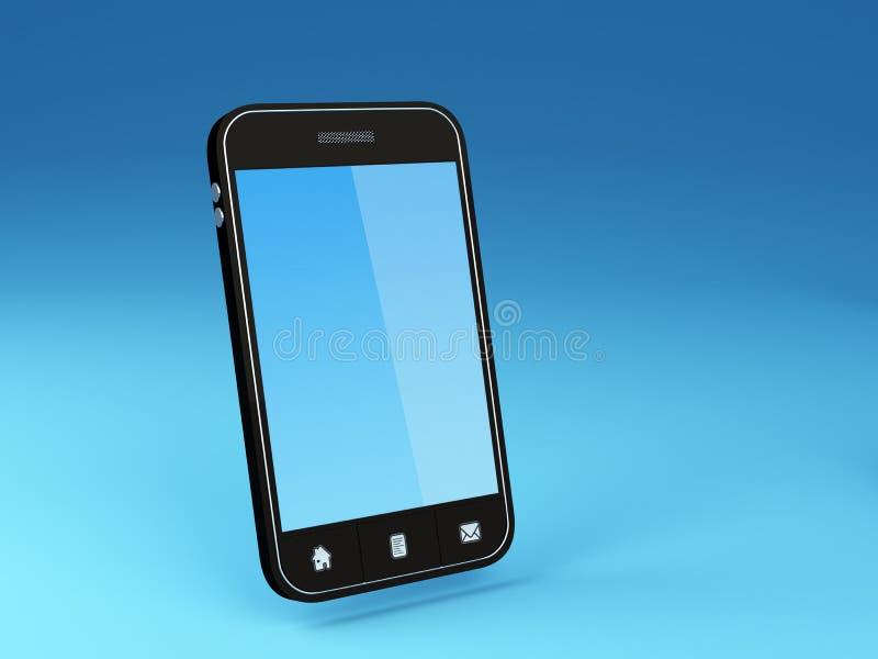 Smartphone ilustração stock