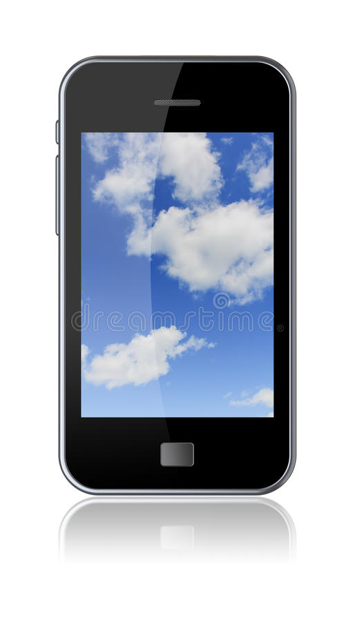 Download Smartphone stock illustration. Illustration of communications - 24231661