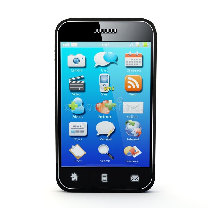 Smartphone ilustração do vetor