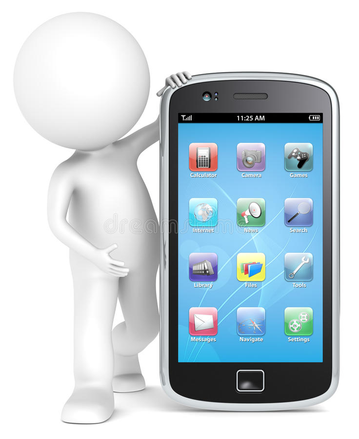 Smartphone. Royalty Free Stock Photography