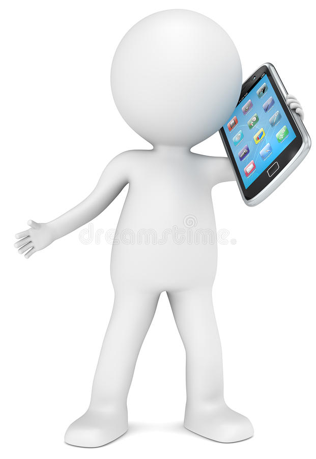 Smartphone. stock de ilustración
