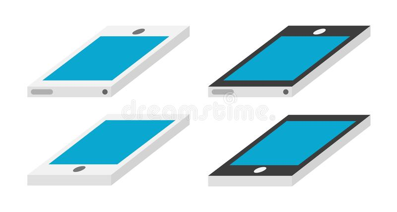 Smartphone royaltyfri illustrationer