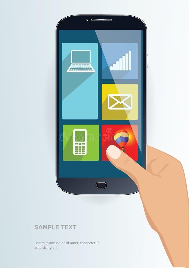 Smartphone illustrazione vettoriale