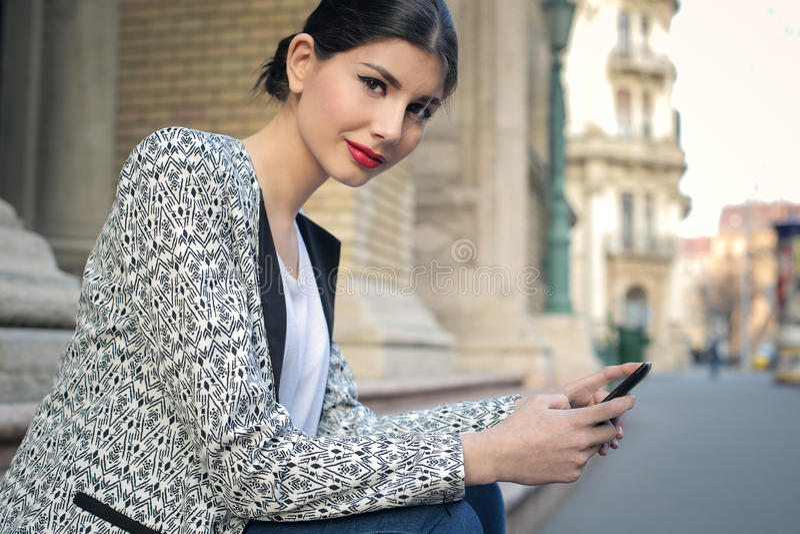 Smartphone fotos de stock