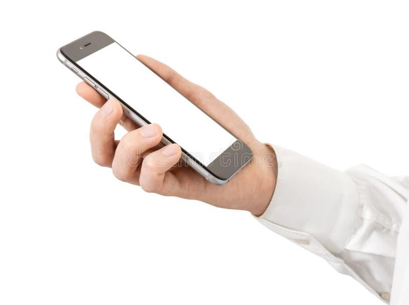 Download Smartphone foto de stock. Imagem de macho, pessoa, messaging - 65579280