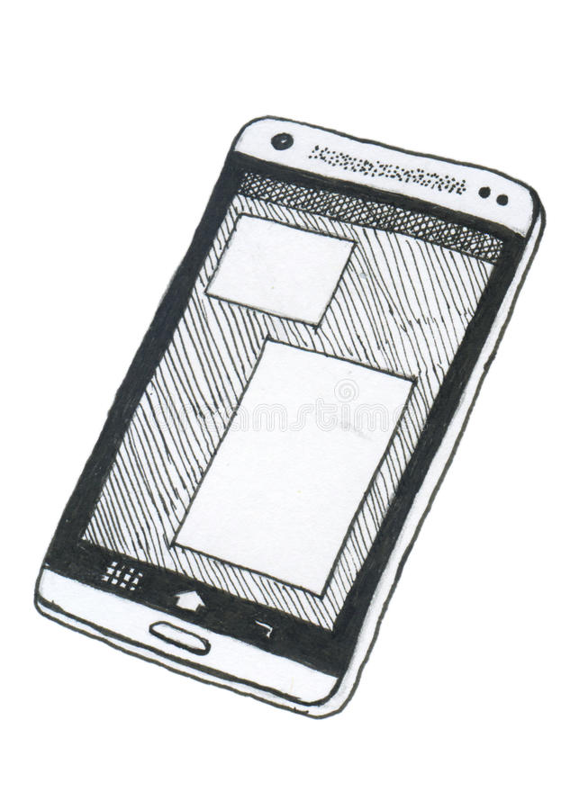 Smartphone royalty-vrije stock foto
