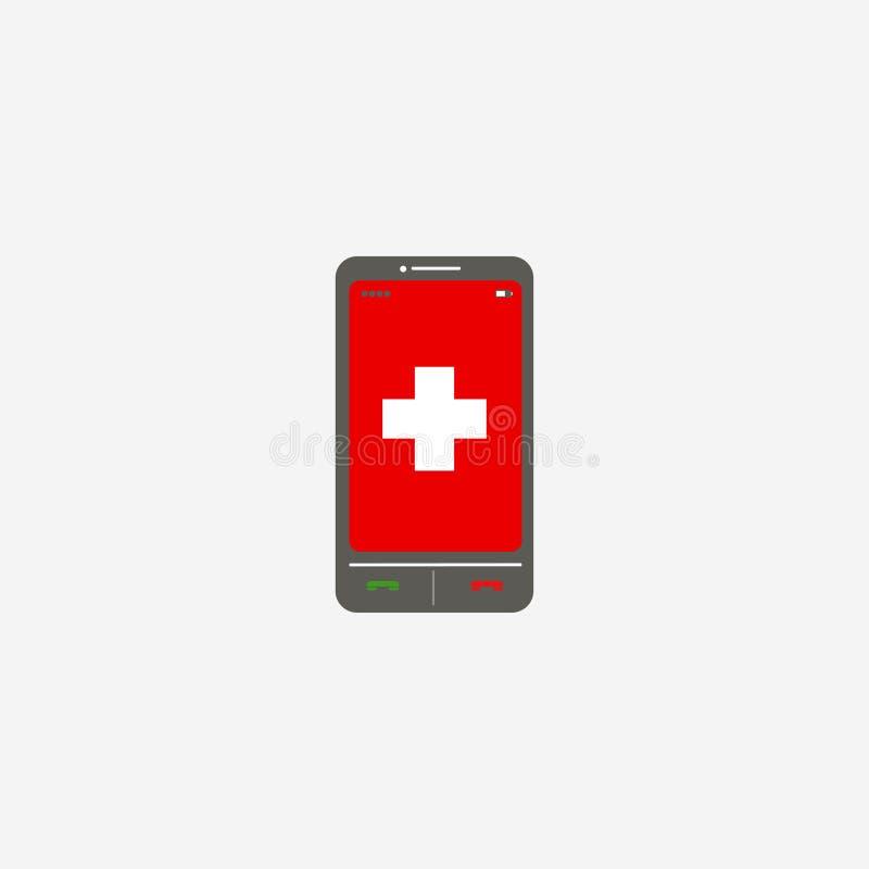Smartphone applikationer Mobilen ringer sensoriskt ocks? vektor f?r coreldrawillustration 10 eps vektor illustrationer
