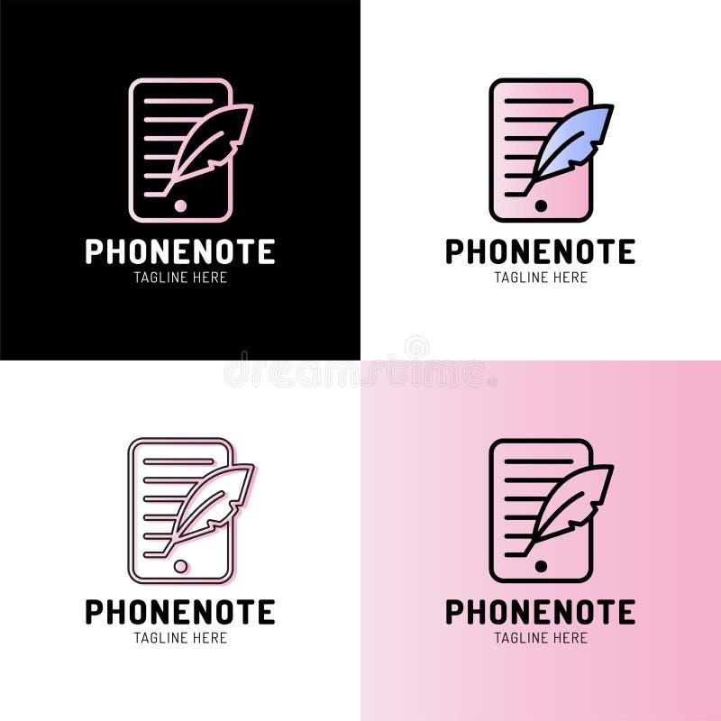 Smartphone con el icono del esquema de la canilla muestra linear del estilo para el concepto y el dise?o web m?viles L?nea simple stock de ilustración
