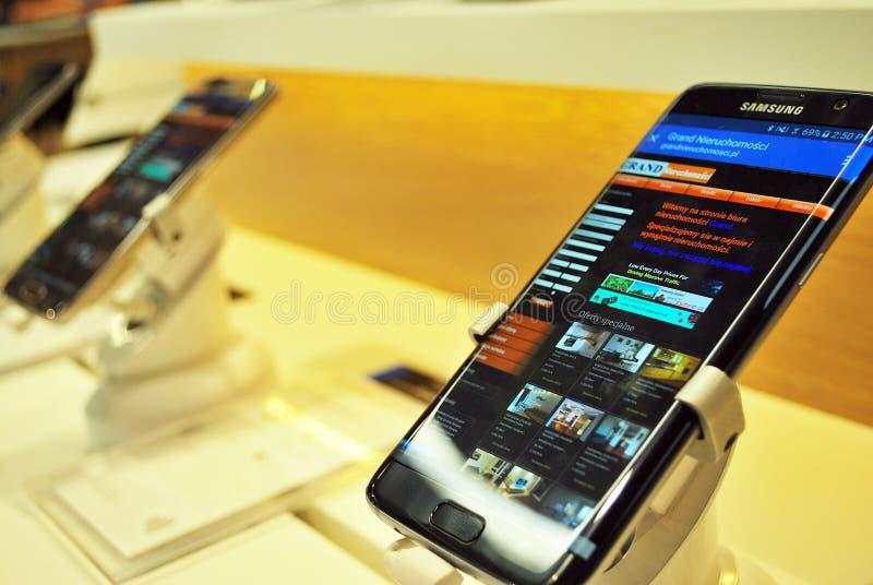 Smartphone de Samsung foto de archivo libre de regalías