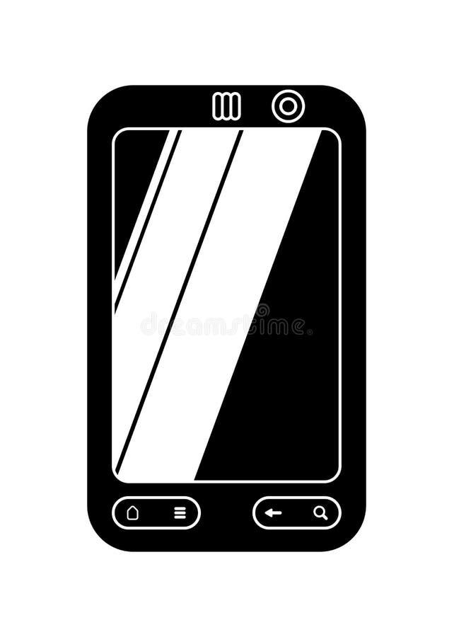 Smartphone dello schermo attivabile al tatto fotografie stock