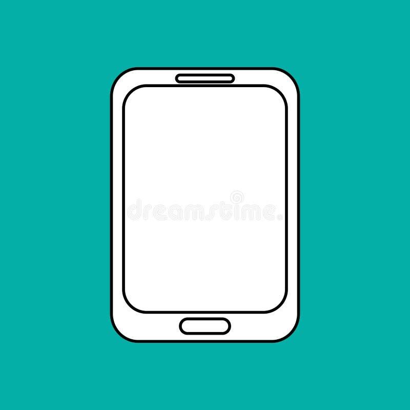 Smartphone design. Media icon. Flat illustration. Smartphone concept with icon design, illustration 10 eps graphic vector illustration