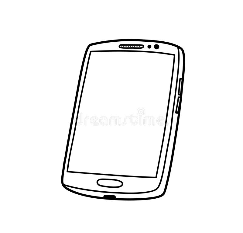 Free Smartphone Doodle Royalty Free Stock Photos - 73788628