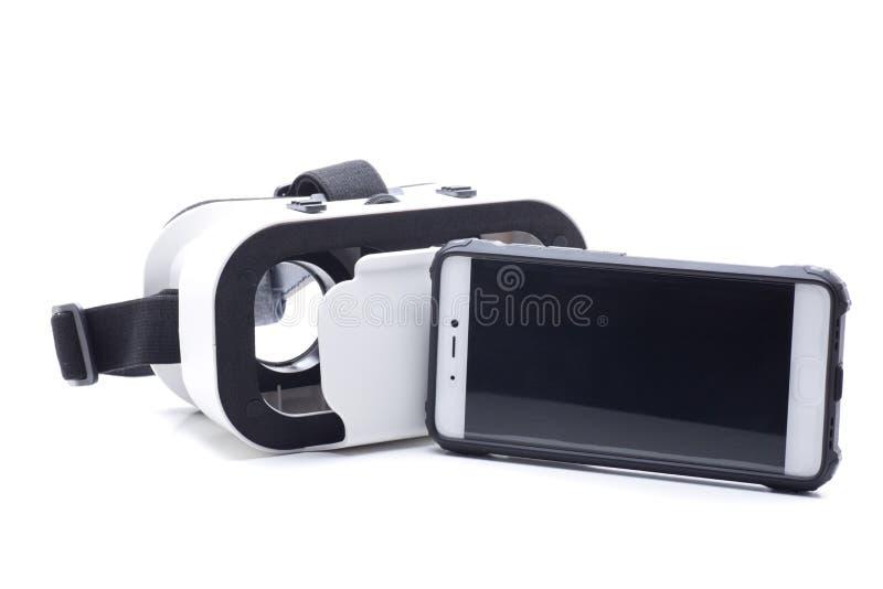 Smartphone e vidros fotos de stock royalty free