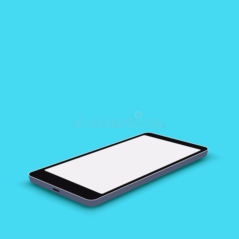 Smartphone eenvoudige 03 stock illustratie