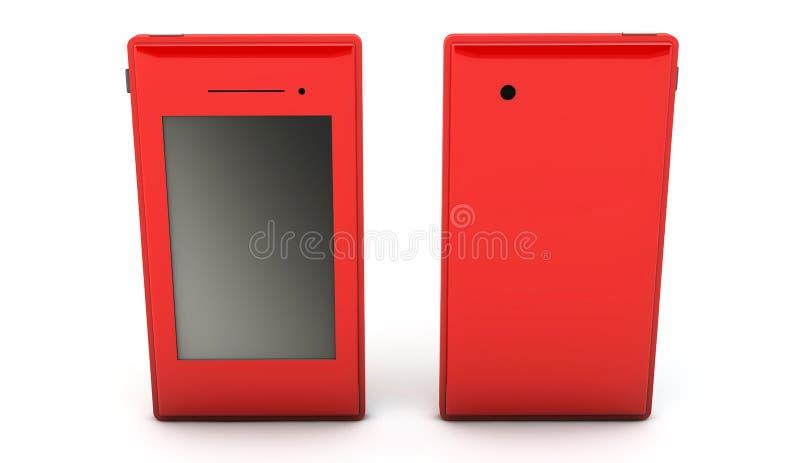 Smartphone en 3d ilustración del vector