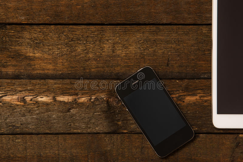 Smartphone en Tablet royalty-vrije stock fotografie