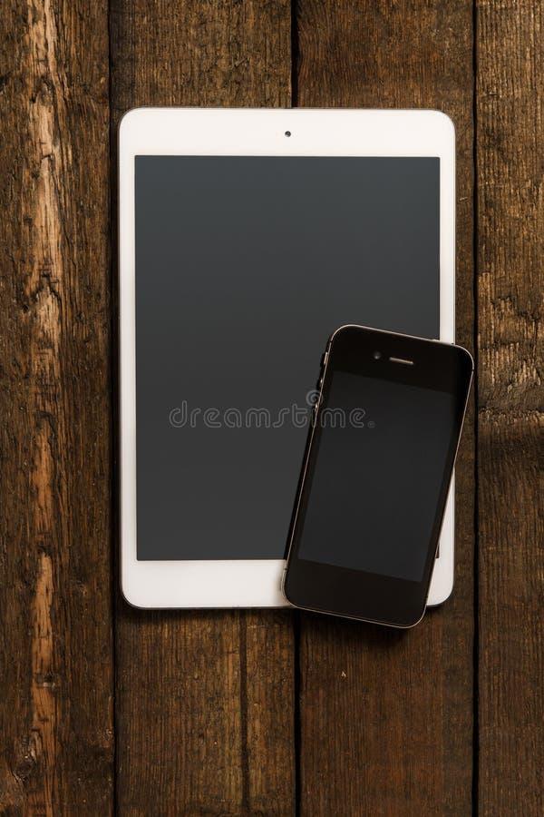 Smartphone en Tablet royalty-vrije stock foto's