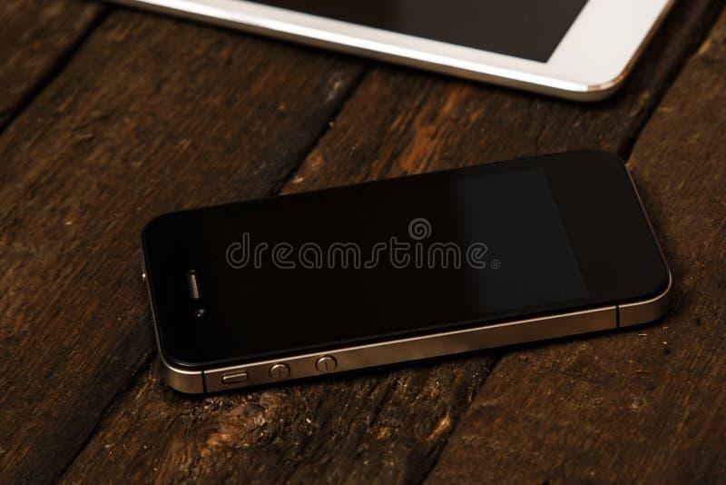 Smartphone en Tablet royalty-vrije stock foto