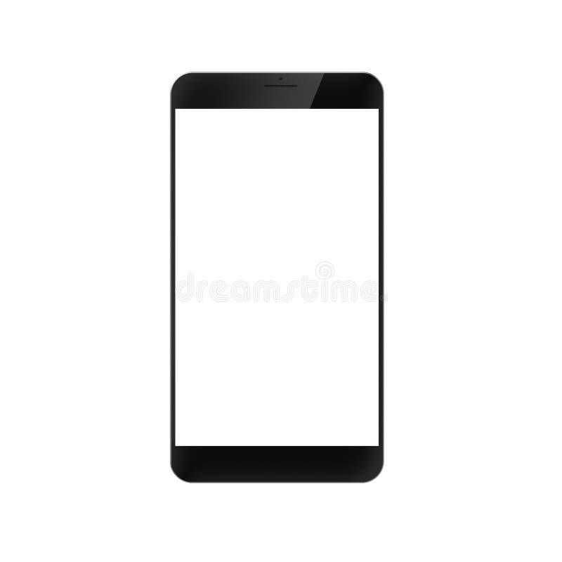 Smartphone genérico moderno creado Digital stock de ilustración