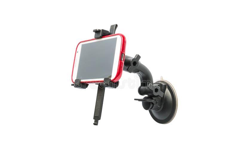 Smartphone hållare arkivbilder