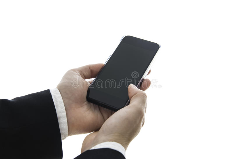 Download Smartphone stock photo. Image of isolated, holding, touch - 32787230
