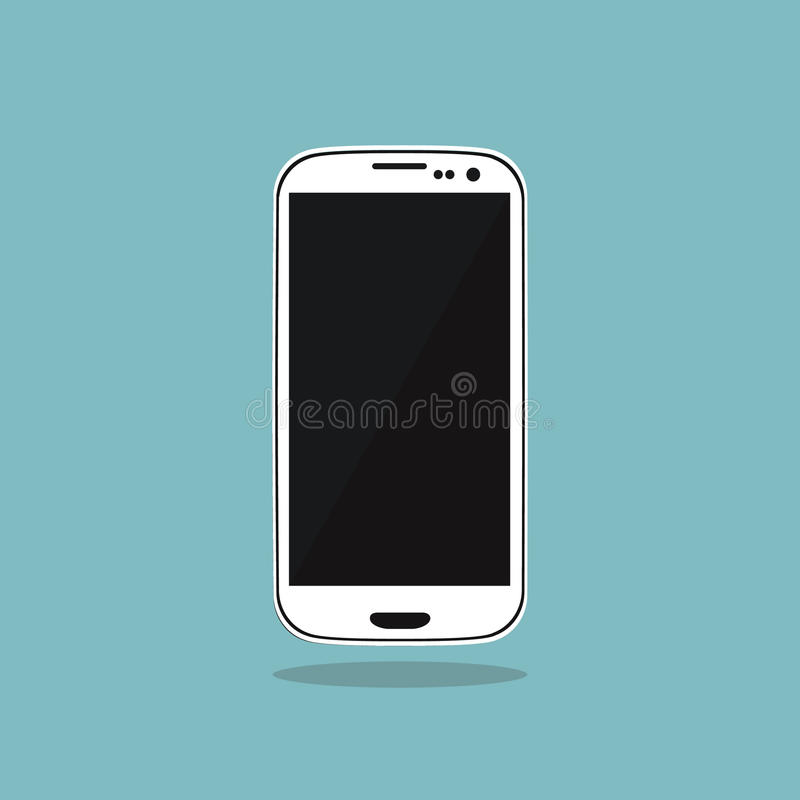 Smartphone Icon stock photo