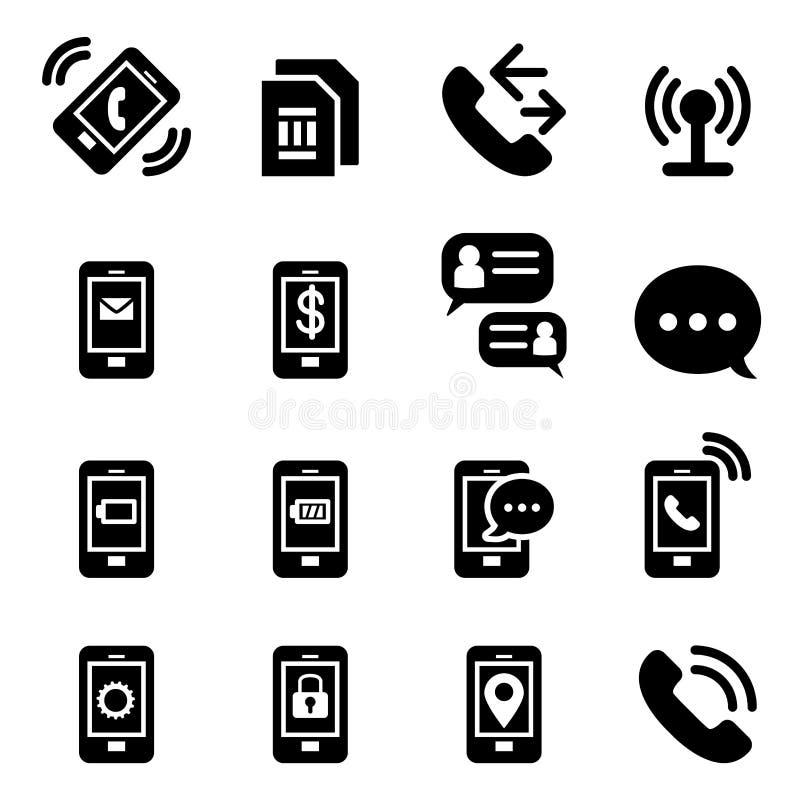 Smartphone icon stock illustration