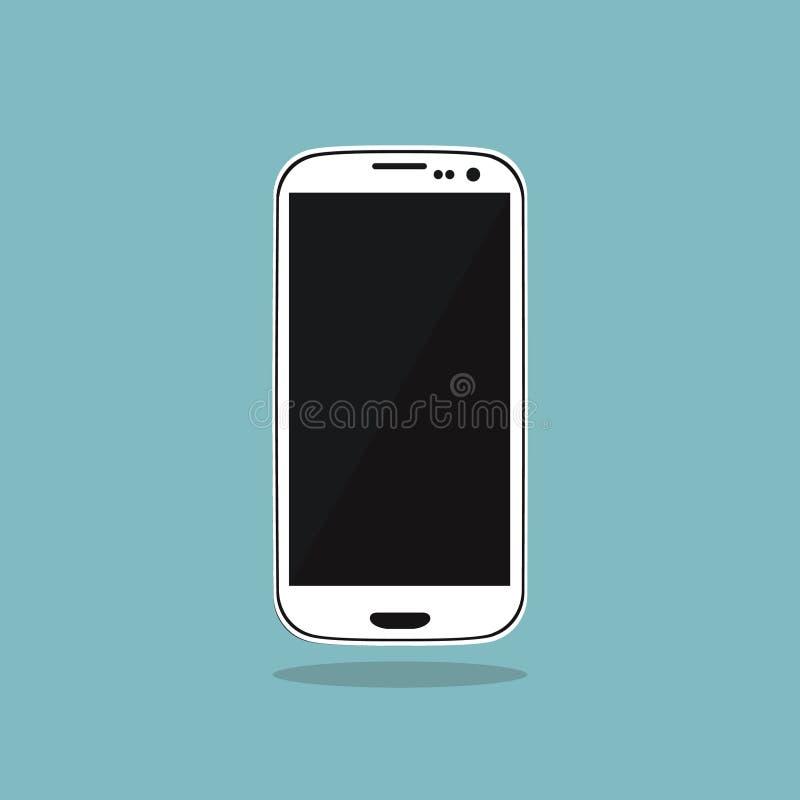 Smartphone ikona zdjęcie stock