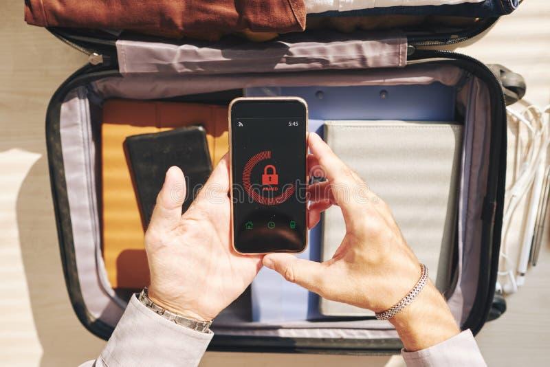 Smartphone Locked fotografia stock libera da diritti