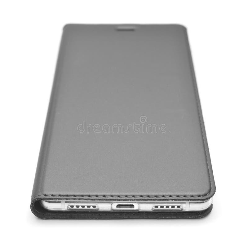 Smartphone met geval royalty-vrije stock foto
