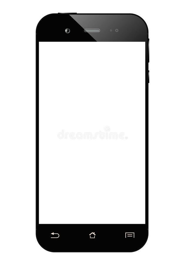 Smartphone nero isolato royalty illustrazione gratis