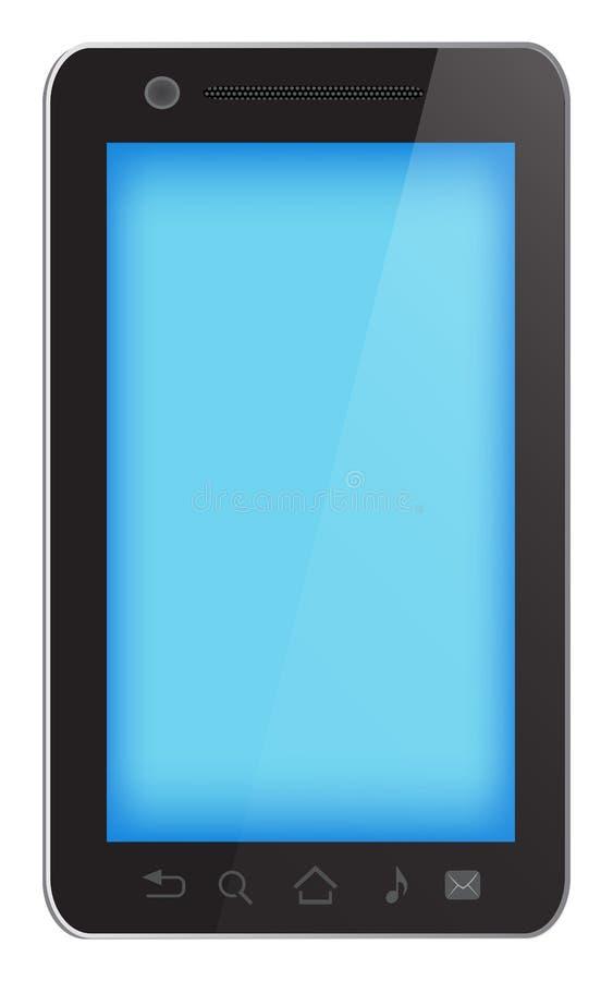Smartphone noir illustration libre de droits