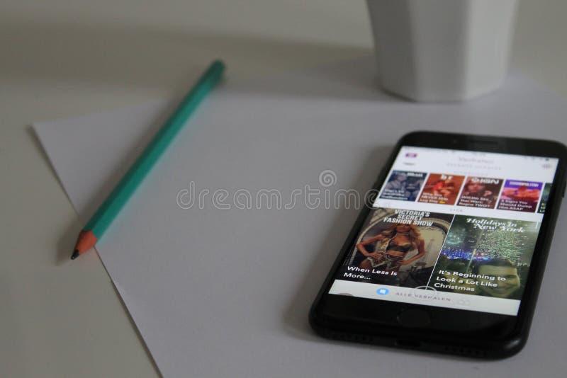 Smartphone On Paper Free Public Domain Cc0 Image