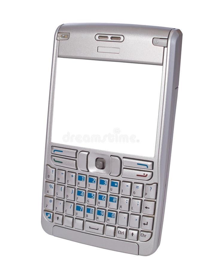 Smartphone pessoal do assistente digital foto de stock