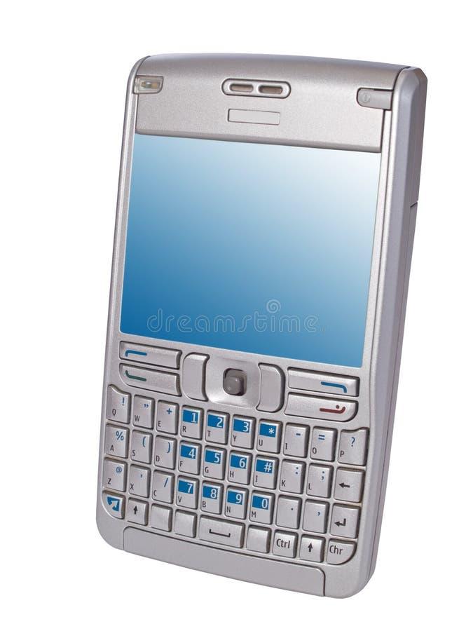 Smartphone pessoal do assistente digital isolado foto de stock royalty free