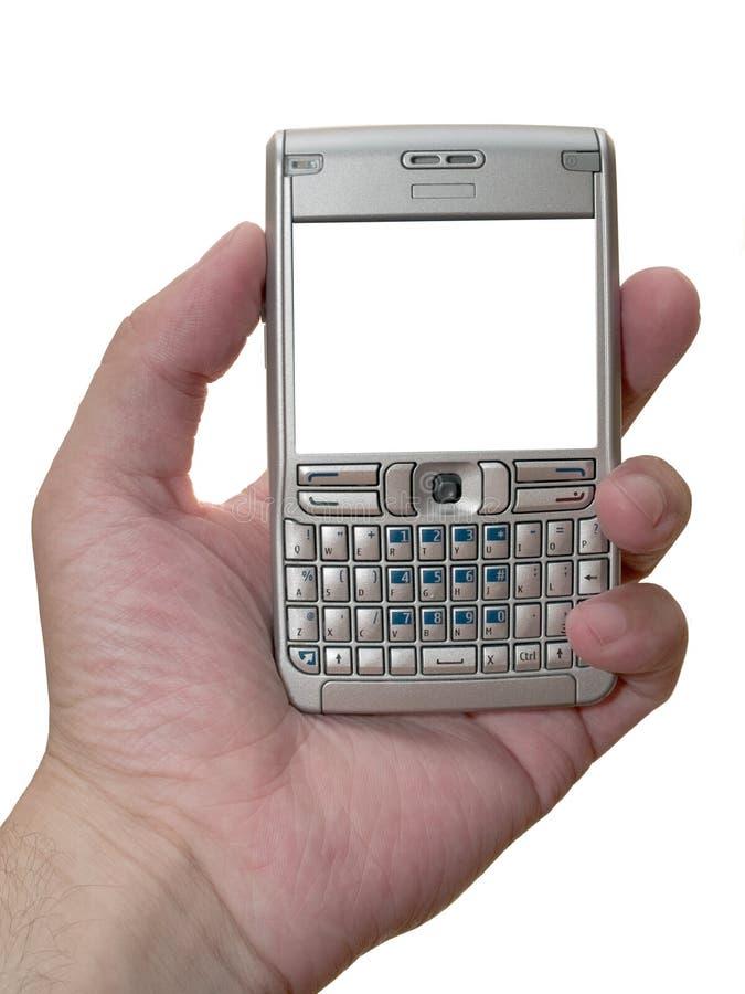 Smartphone pessoal do assistente digital isolado fotos de stock royalty free