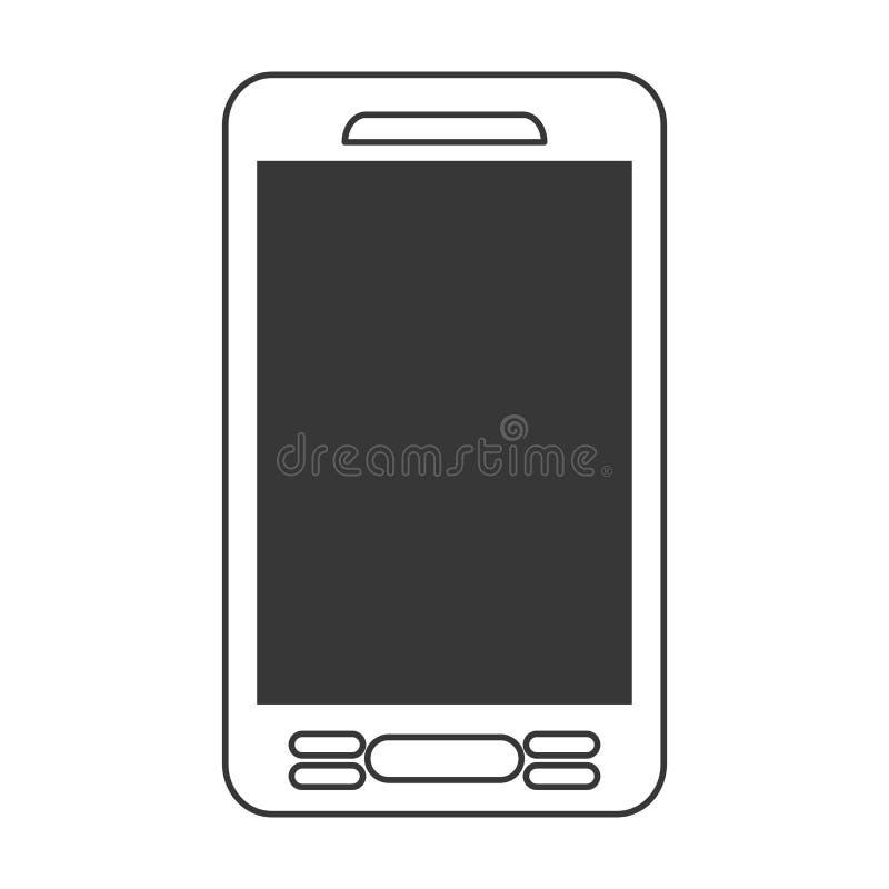 smartphone phone mobile flat icon royalty free illustration