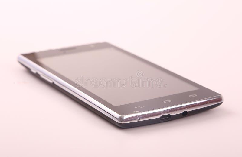 Smartphone preto imagens de stock
