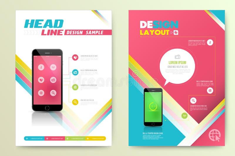 Smartphone realistic vector mockup. vector illustration