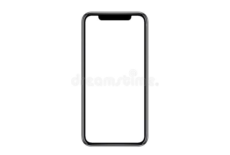 Smartphone similar a los xs del iphone stock de ilustración