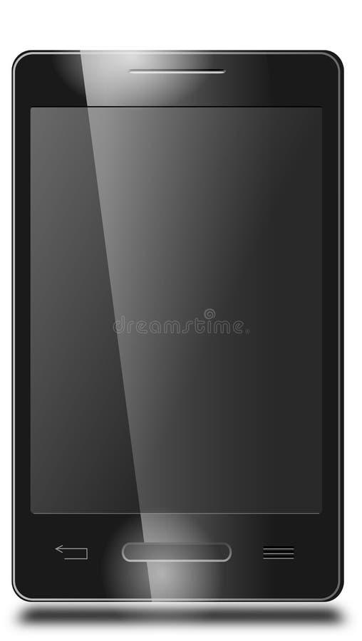 Smartphone som svars- royaltyfri fotografi