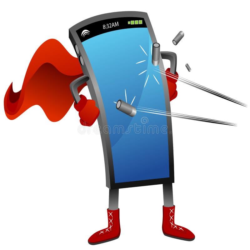 Smartphone superbe illustration stock