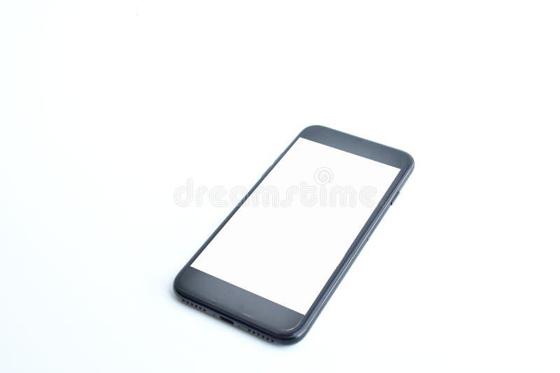 Smartphone sur le fond blanc photo stock